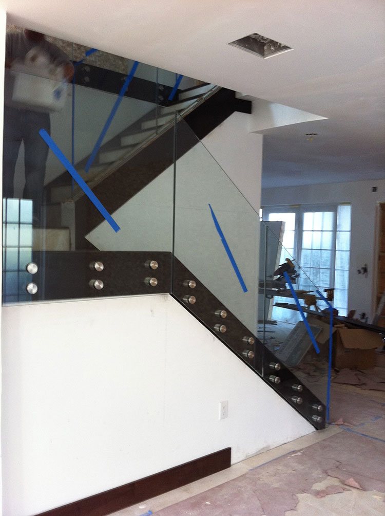 Contruction Custom Glass Work