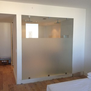 Renovation Custom Glass Work