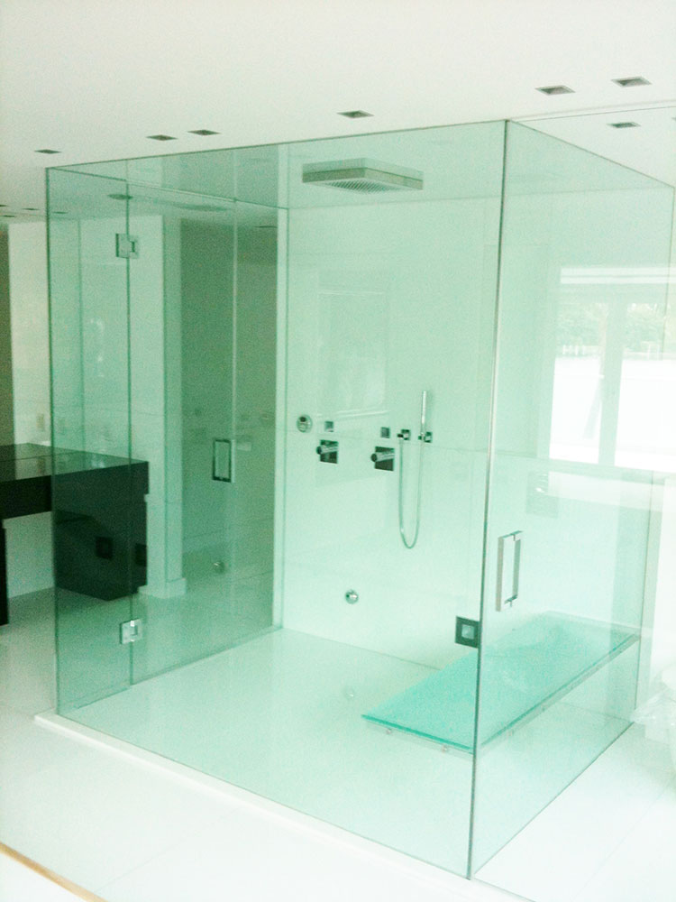 Construction Management Custom Glass Work